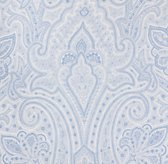 Italian Washed Sateen Paisley Bedding Swatch