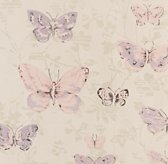 Vintage Butterfly Bedding Swatch