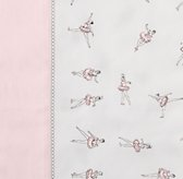 European Vintage Ballerina Bedding Swatch