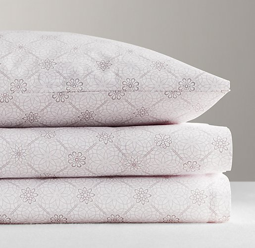 Italian Floral Medallion Sheet Set