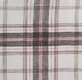Washed Windowpane Plaid Bedding Swatch