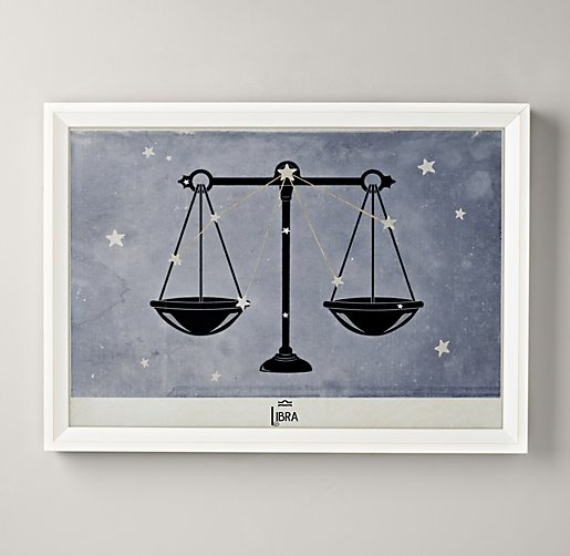 Constellation Art - Libra