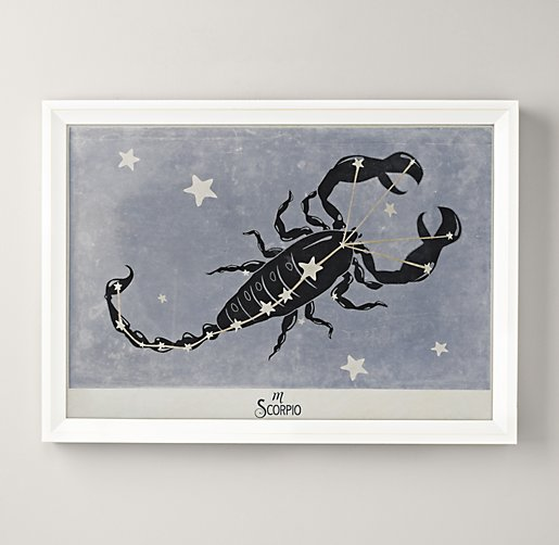 Constellation Art - Scorpio