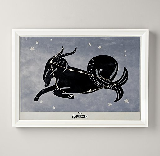 Constellation Art - Capricorn