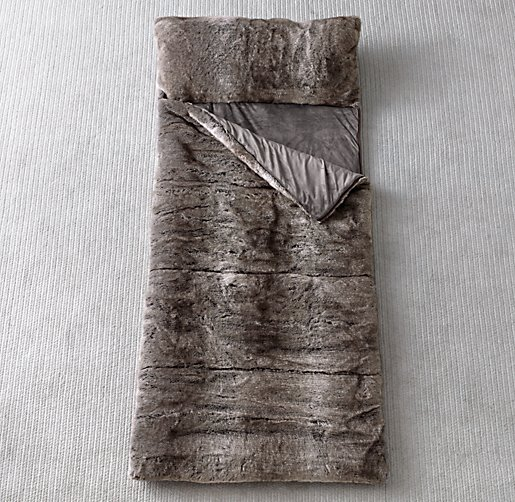 Luxe piel sintética Bolsa de dormir