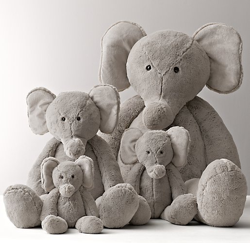 Cuddle Plush Elephant