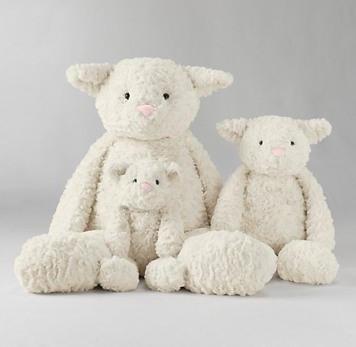Textured Plush Lamb