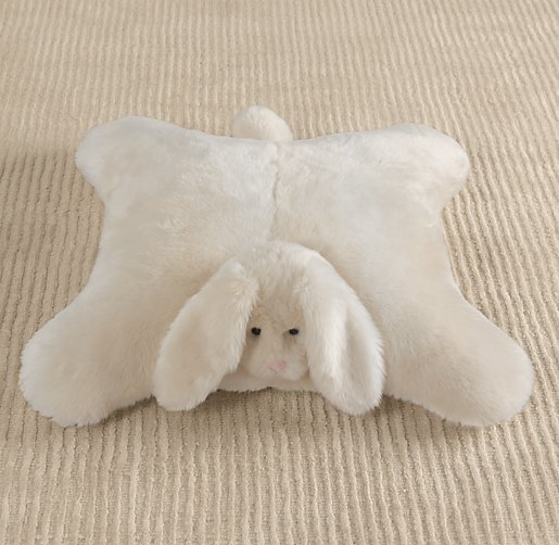 Luxe Faux Fur Floor Pillow