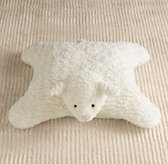 Textured Plush Lamb Floor Pillow
