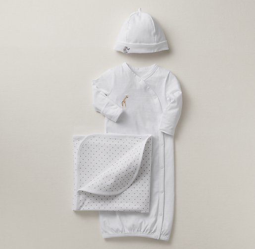 Embroidered Safari Newborn Set