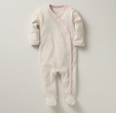 Organic Jersey Layette Footed One Piece
