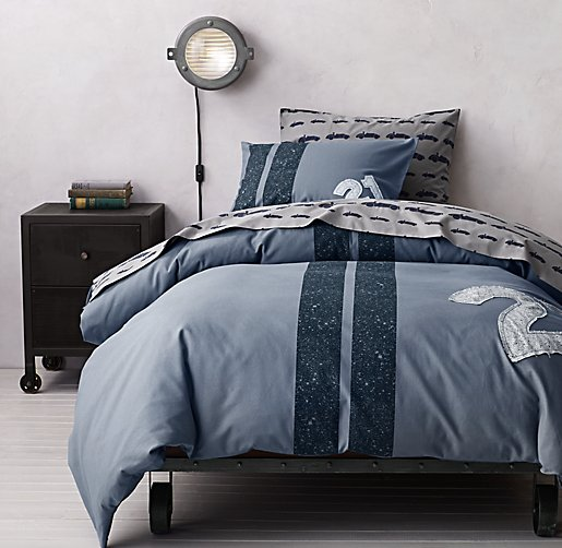 Racing Stripe & European Roadster Bedding Collection