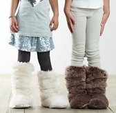 Luxe Faux Fur Slouchy Booties