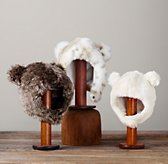 Luxe Faux Fur Animal Hoods
