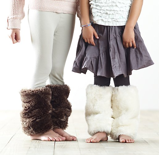 Luxe Faux Fur Leg Warmers