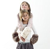 Luxe Faux Fur Wrist Warmers