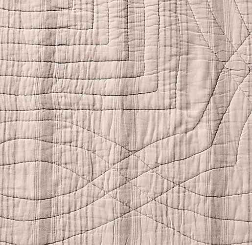 Garment-Dyed Vintage Stripe Bedding Swatch