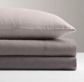 Garment-Dyed Linen Flat Sheet