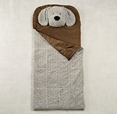 Plush Animal Head Sleeping Bag