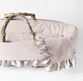 Washed Velvet Moses Basket Bedding