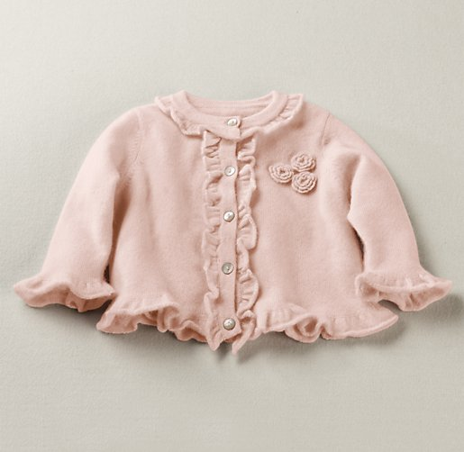 Ruffled Cashmere Sweater