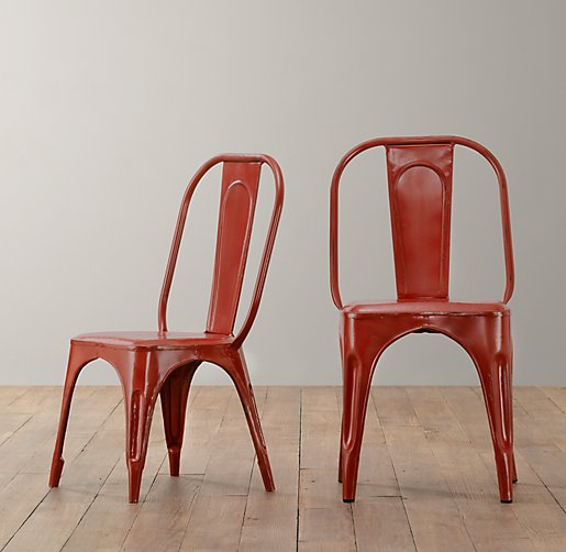 Vintage Steel Play Chair
