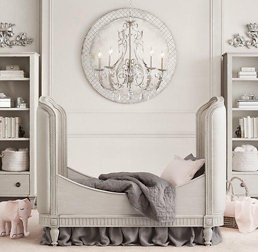 Belle Upholstered Crib