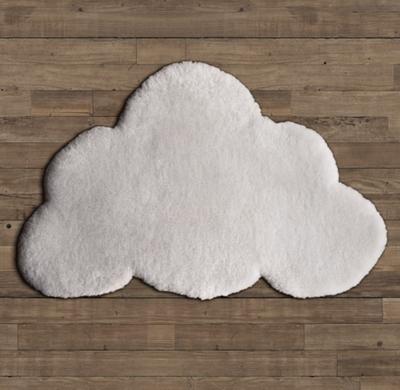Natural Sheepskin Cloud Wool Rug