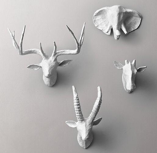 Petite Papier M 226 Ch 233 Animal Heads