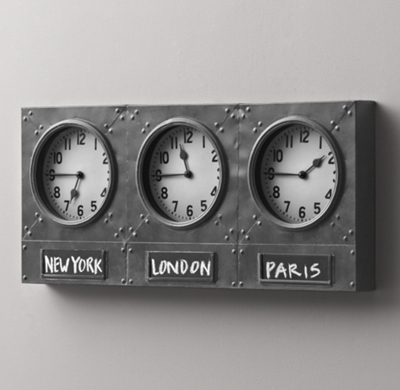 Air Station Time Zone Clock