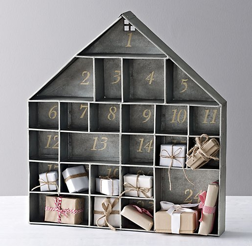 RH Baby & Child Galvanized Advent House