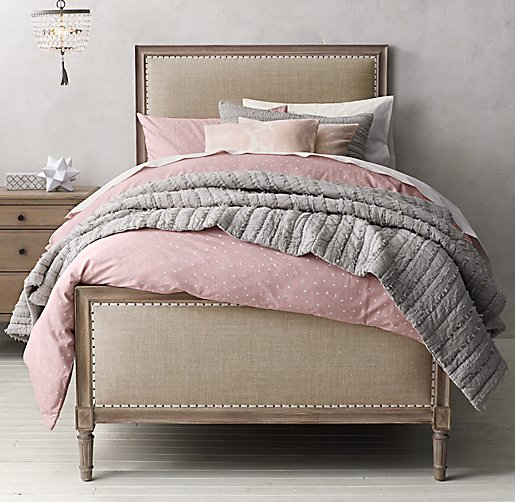 Dotted Voile Amp Vintage Washed Percale Bedding Collection