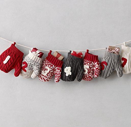 Knit Mitten Advent Calendar