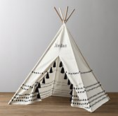 Mali Printed Canvas Teepee Tent Arrows