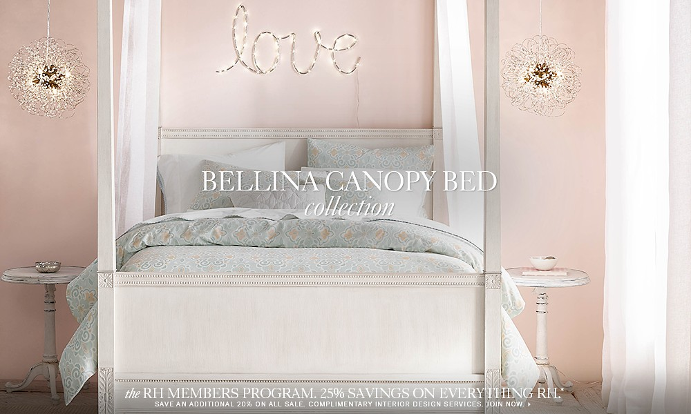 Bellina canopy bed