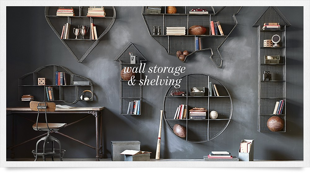 shop wall storage & shelving