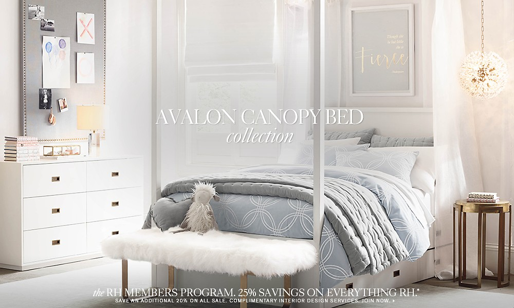 Avalon canopy bed