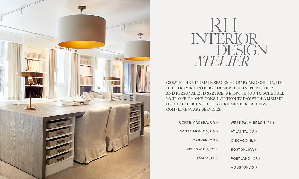 Introducing RH Interior Design Atelier