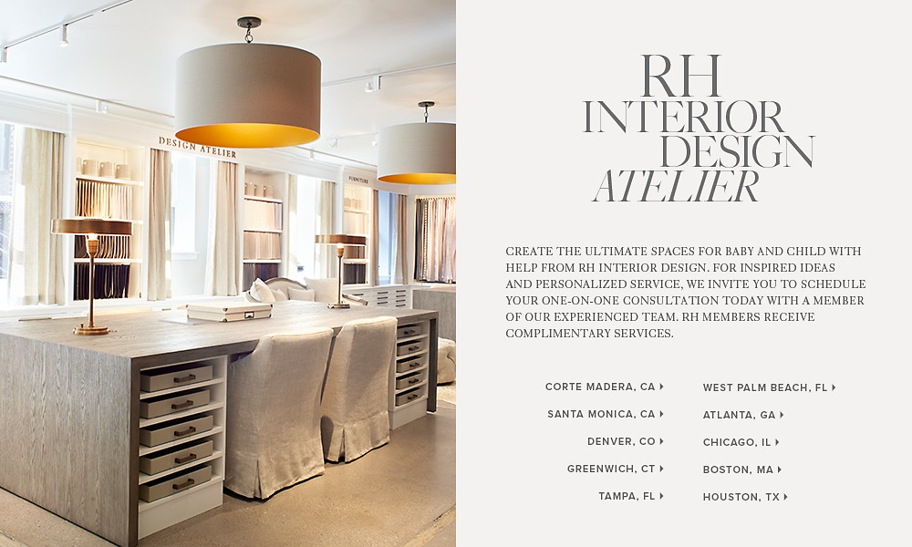 Introducing RH Interior Design Atelier