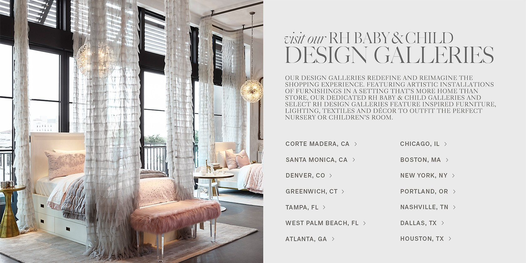 Visit An Rh Baby And Child Design Galley Today