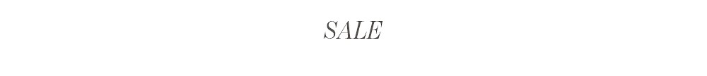 Sale - Save big on everything small.