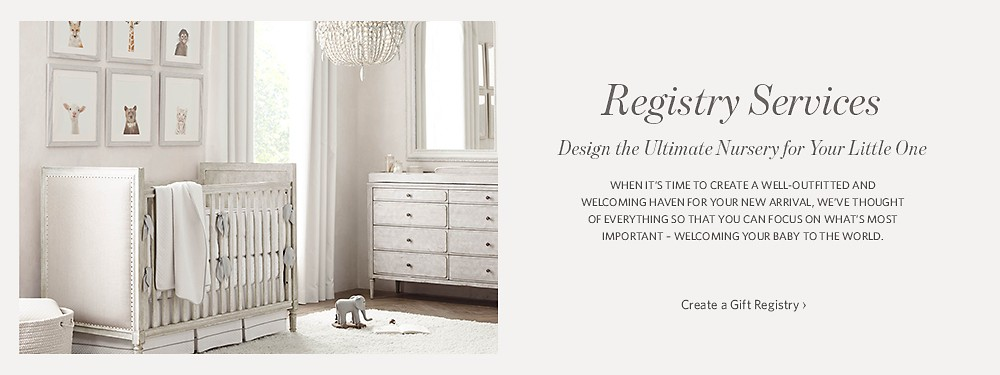 Create a Gift Registry