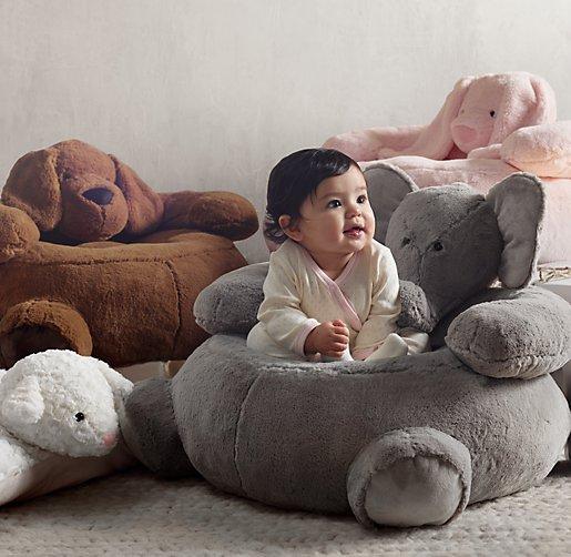 Cuddle Plush Bunny Chair