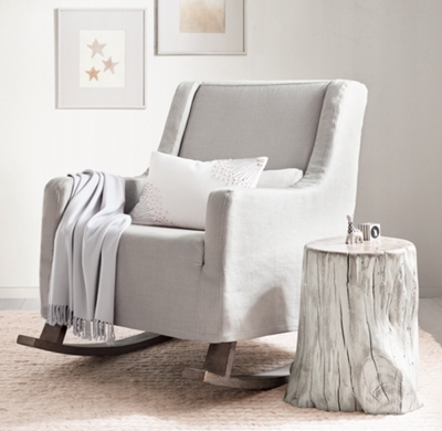 Acacia Trunk Side Table