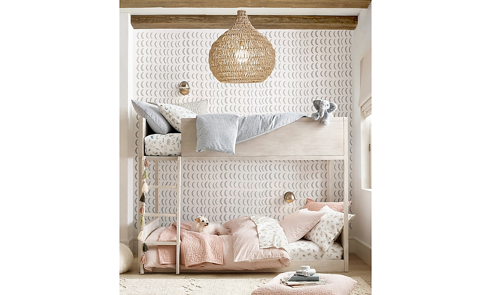 Keegan Bunk Bedroom Mist Grey