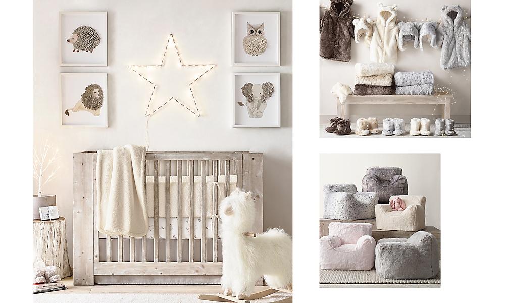 Callum Nursery Weathered White