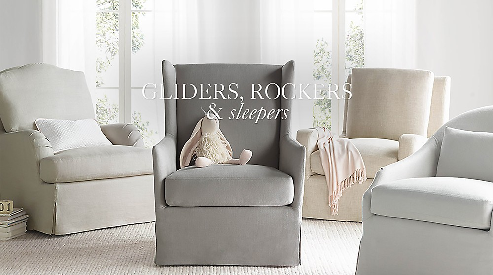 Gliders Rockers Amp Sleepers Rh Baby Amp Child