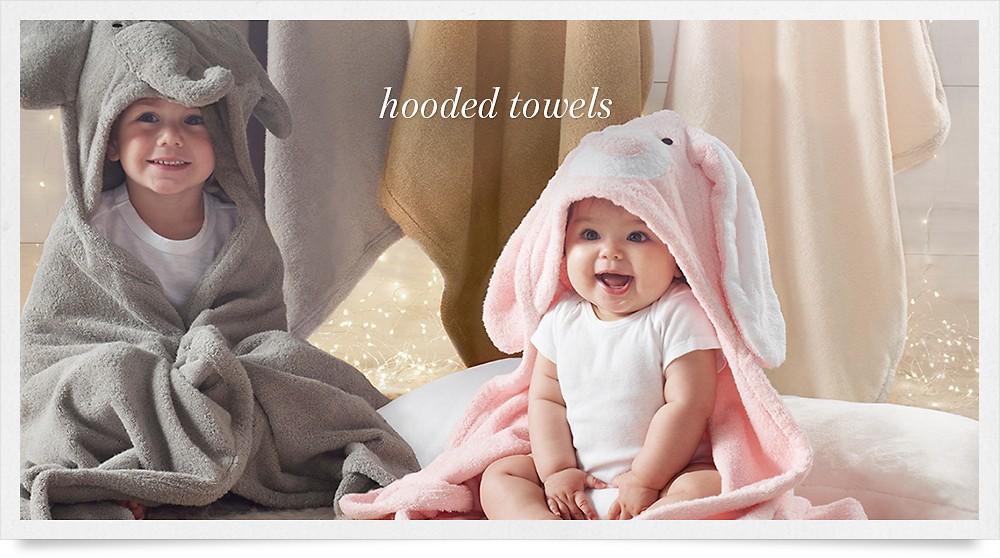 shop hooded towels