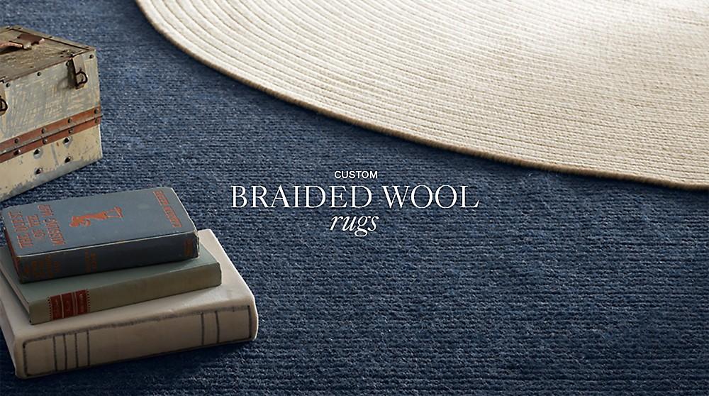 Custom Braided Wool Rug Collections