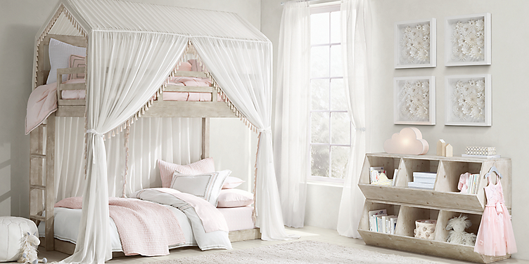 Girl Bedroom Collections | RH Baby & Child